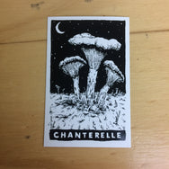 Mycophile No. 1 Mushroom Sticker 6-pack