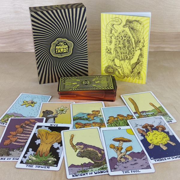 The Mushroom Tarot Deck Full Color 81 Card Deck (1st Ed. 2020)