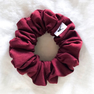 Cranberry Scrunchie