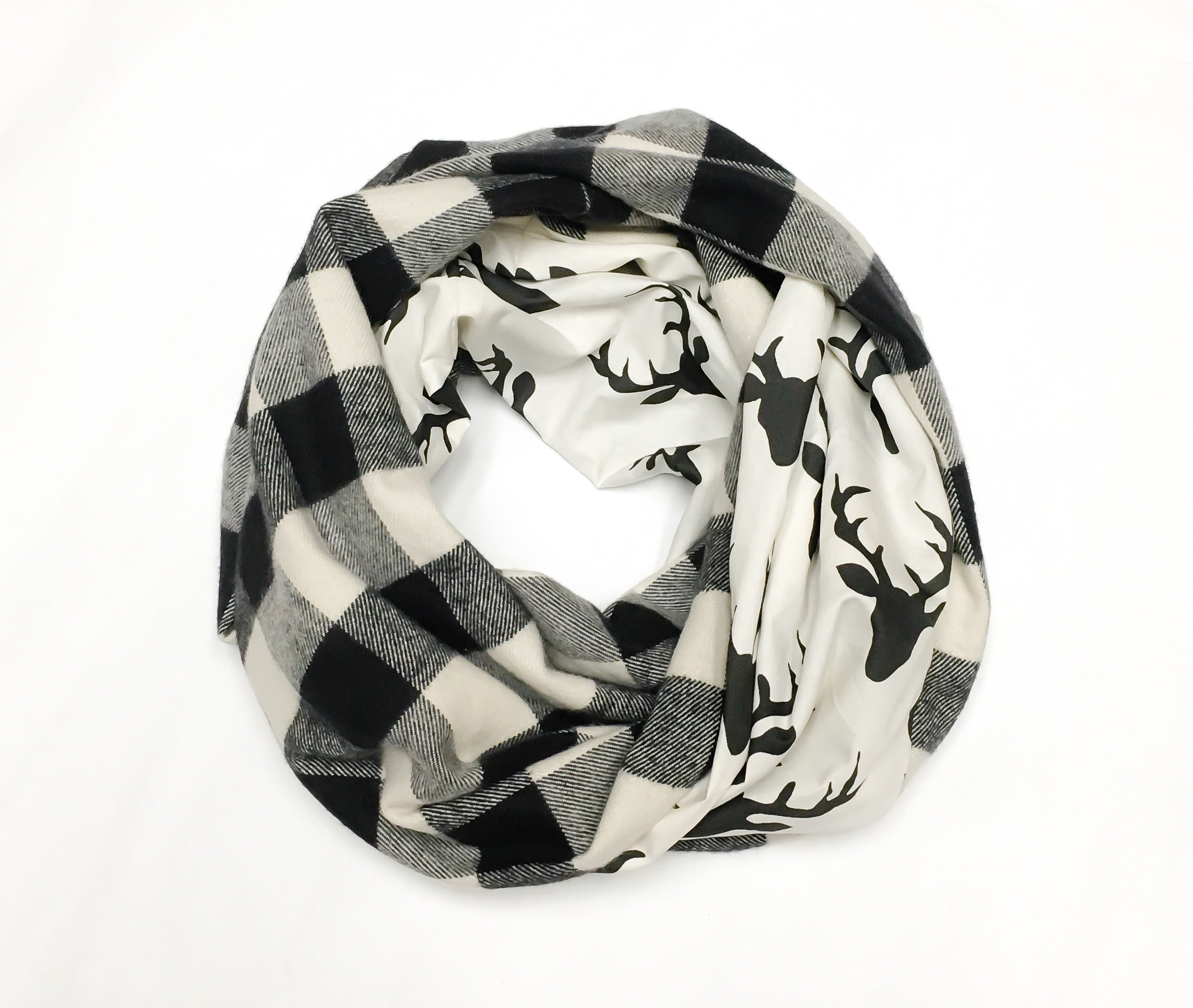 Cookies and Cream Infinity Scarf
