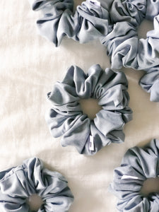 Dove Blue Scrunchie