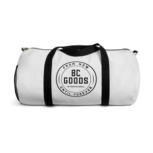 BC Goods International | Standard Issue | White Duffle Bag