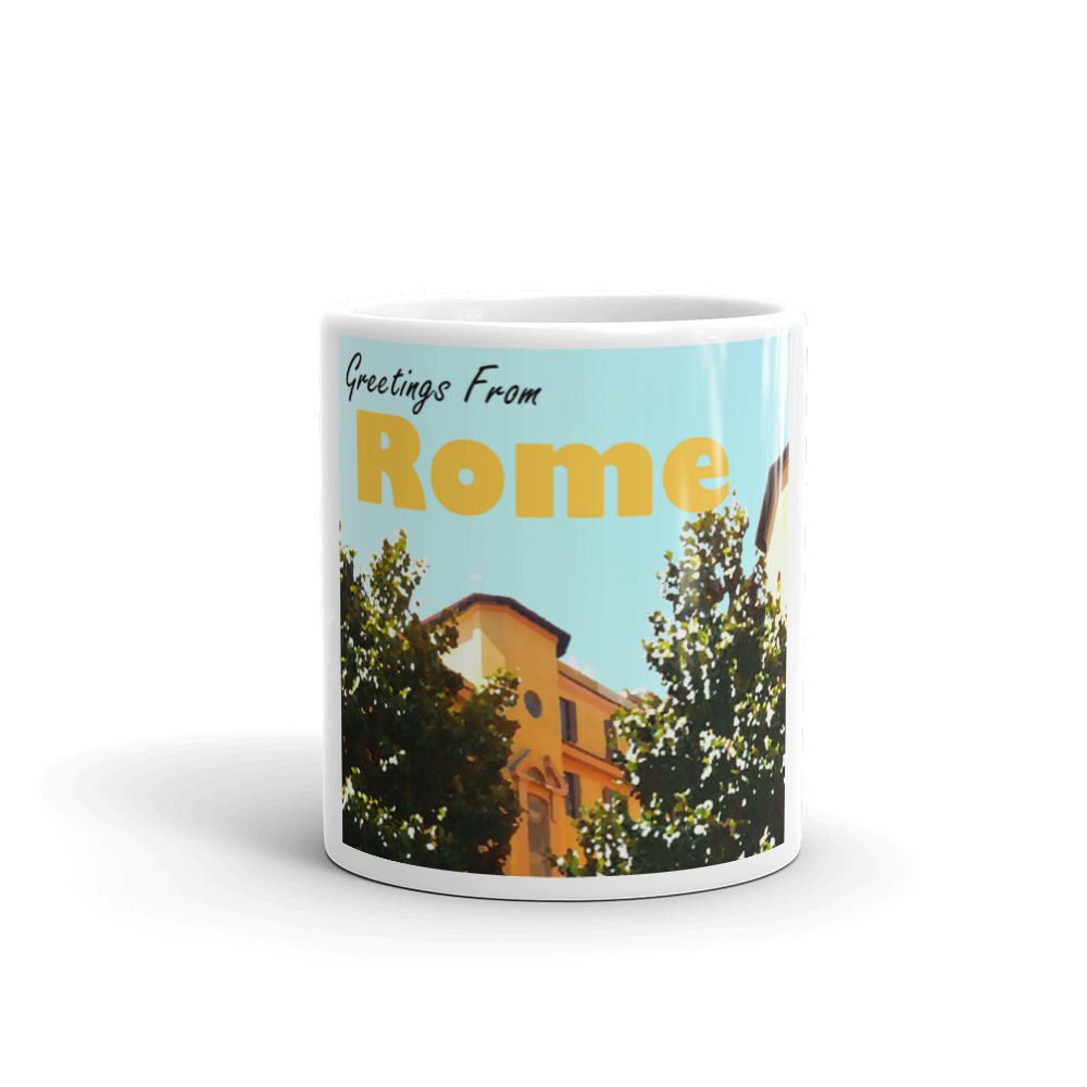 Greetings From ROME | Roma, Italia | Coffee Mug