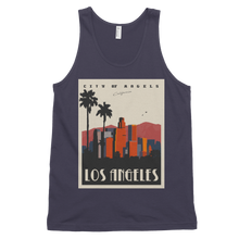 Los Angeles Travel Poster Tanktop
