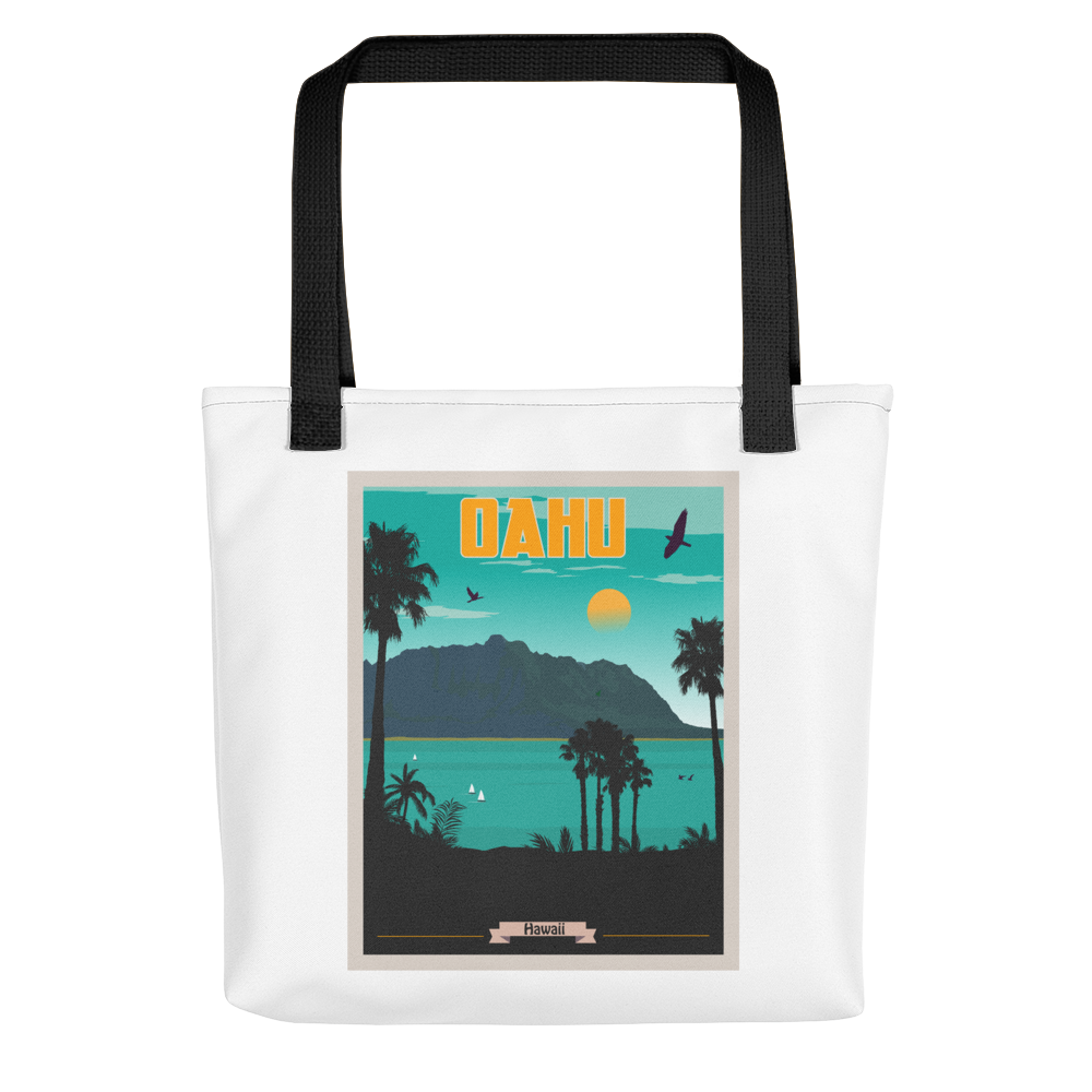 Oahu Hawaii Tote Bag