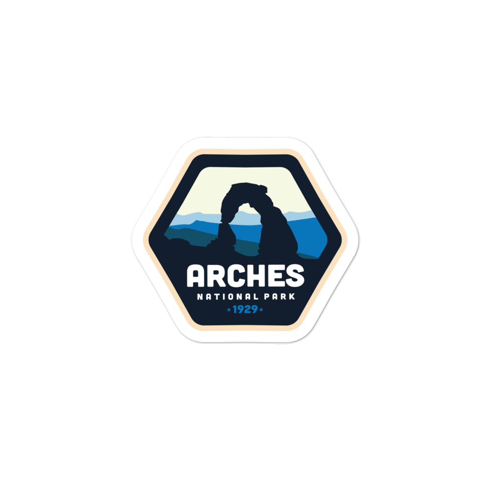Arches National Park - Vinyl Decal Sticker