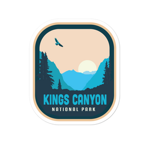Kings Canyon National Park - Vinyl Decal Sticker