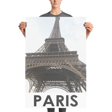Eiffel Tower | Paris, France | High-Quality Photo Paper Poster Wall Art