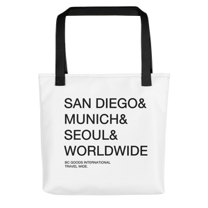 BC Goods International | Round Trip Tote bag