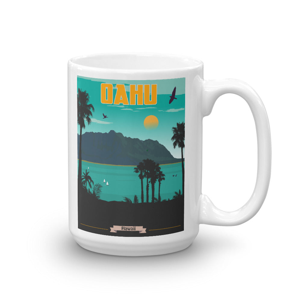 Oahu Hawaii Coffee Mug