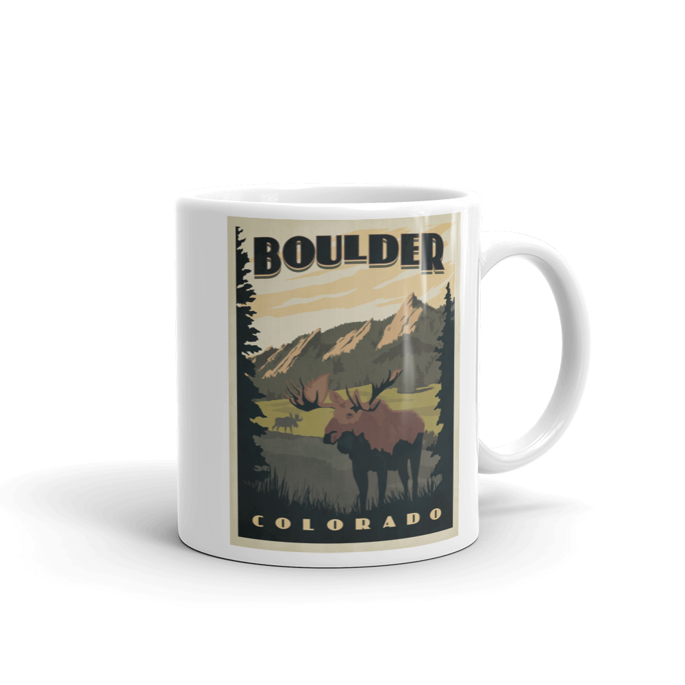 Boulder Colorado Coffee Mug