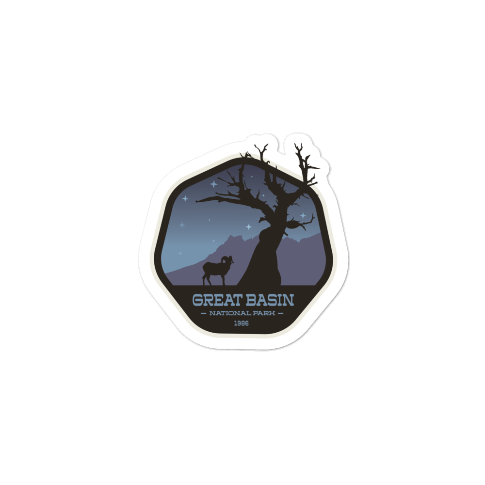 Great Basin National Park - Vinyl Decal Sticker