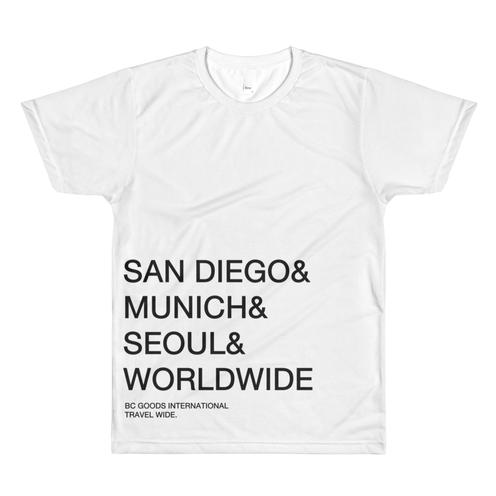 BC Goods International | Travel Wide | T-Shirt
