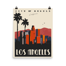 Los Angeles Travel Poster