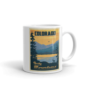 Colorado Rocky Mountains Coffee Mug