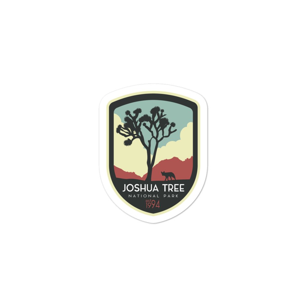Joshua Tree National Park - Vinyl Decal Sticker