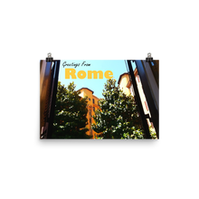 Rome From a Window | Rome, Italy | High-Quality Photo Paper Poster Wall Art