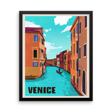 Venice Travel Poster