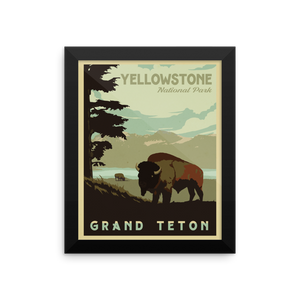 Yellowstone Travel Poster