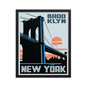 "Brooklyn New York ""Brooklyn Bridge"" 