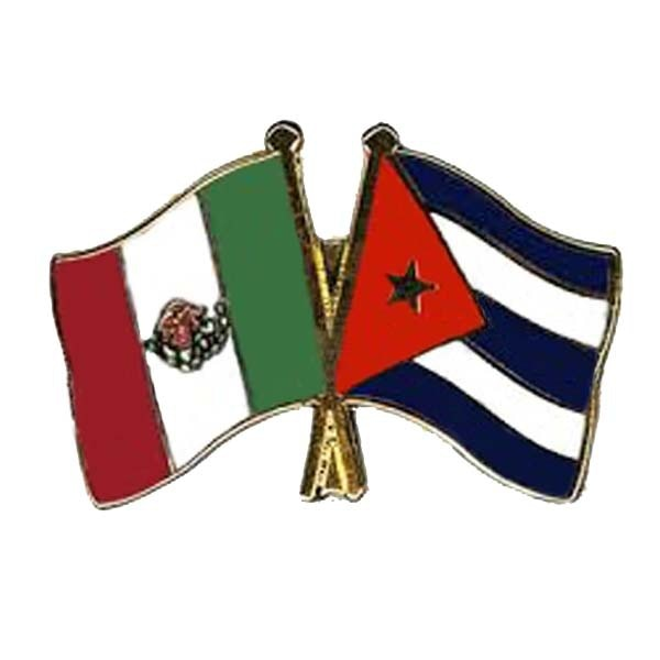 Mexico-Cuba Friendship Pin