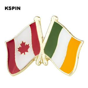 Canada-Ireland Friendship Pin