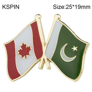 Canada-Pakistan Friendship Pin
