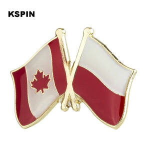 Canada-Indonesia Friendship Pin