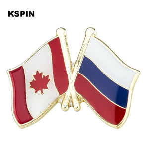 Canada-Russia Friendship Pin