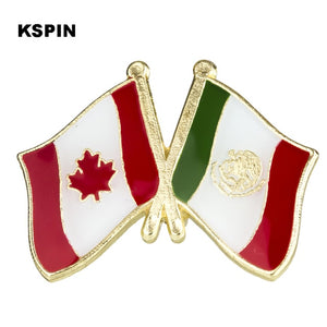 Canada-Mexico Friendship Pin