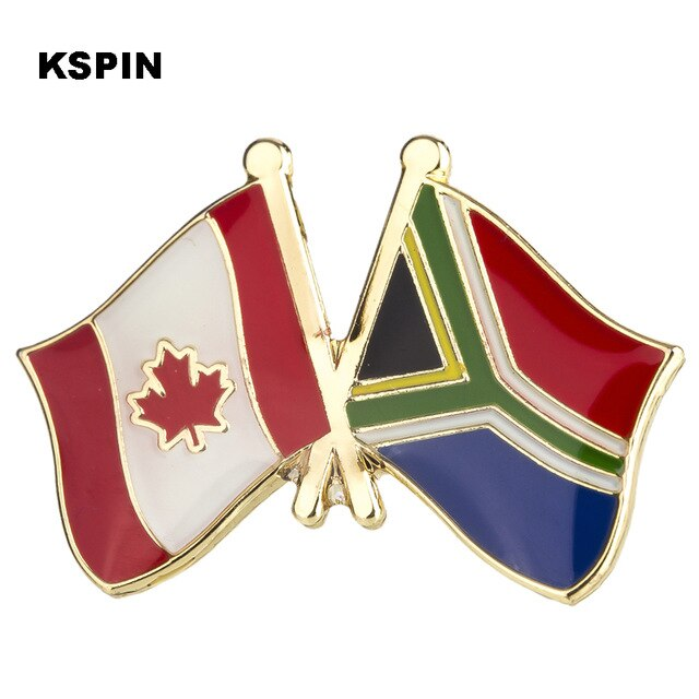 Canada-South Africa Friendship Pin