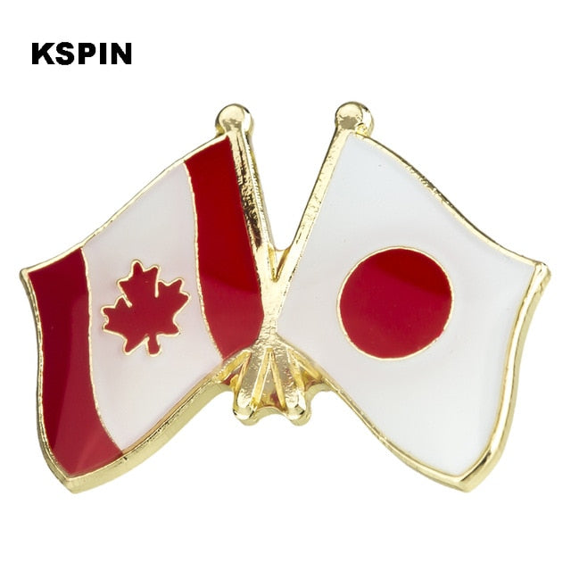 Canada-Japan Friendship Pin