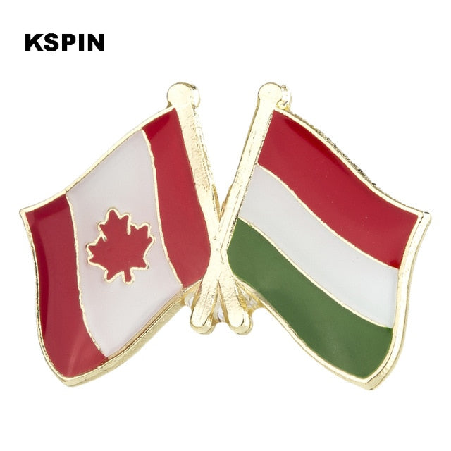 Canada-Hungary Friendship Pin