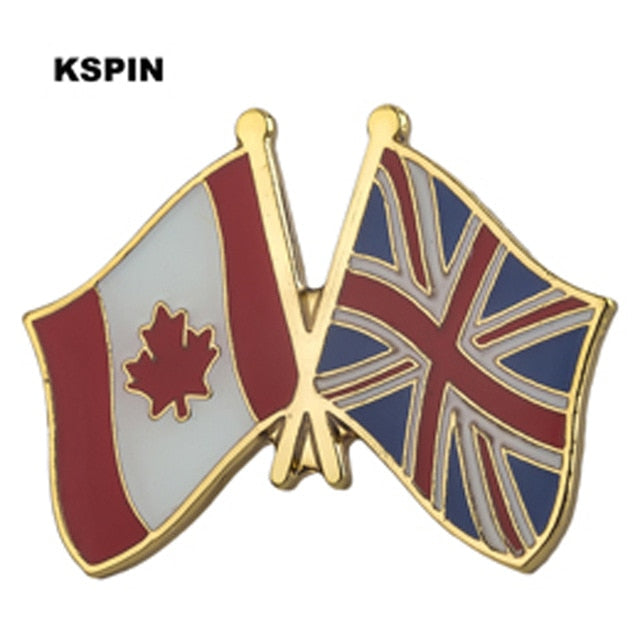 Canada-UK Friendship Pin