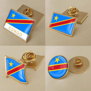 Democratic Republic of the Congo Pins