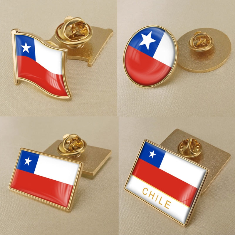 Chile Pins
