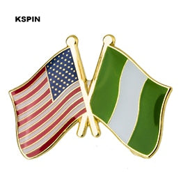 USA-Nigeria Friendship Pin