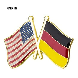 USA-Germany Friendship Pin