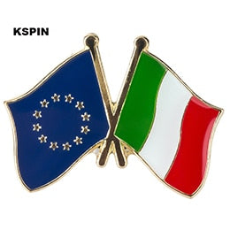 EU-Italy Friendship Pin