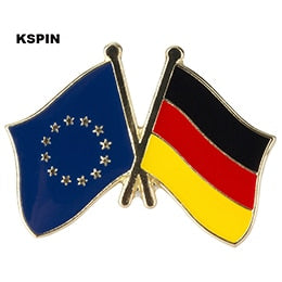 EU-Germany Friendship Pin