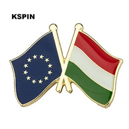 EU-Hungary Friendship Pin