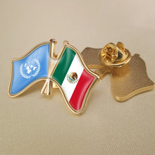 Mexico-UN Friendship Pin