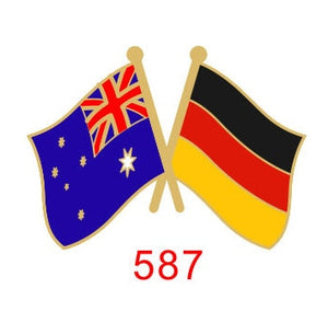 Australia - Germany Friendship Pin