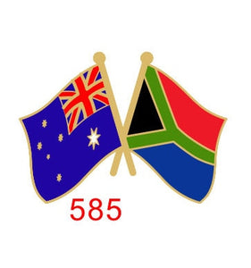 Australia - South Africa Friendship Pin