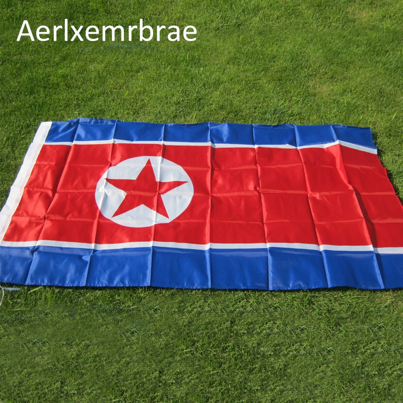 North Korea Flag 90x150cm