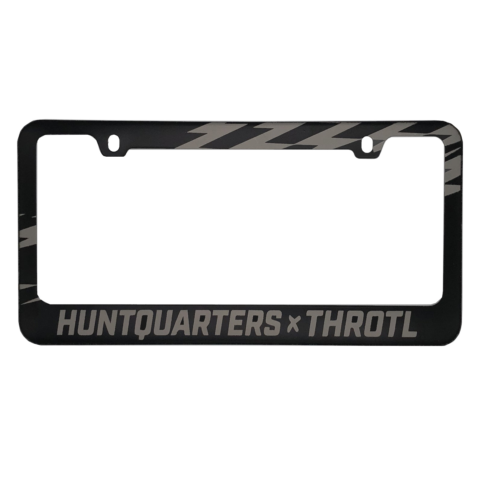 """Lightning Bolt"" License Plate Frame"