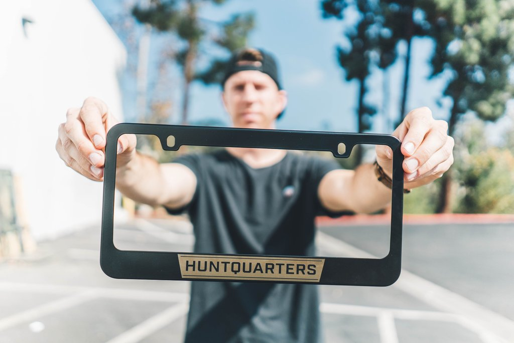 "Huntquarters ""Classic"" License Plate Frame"