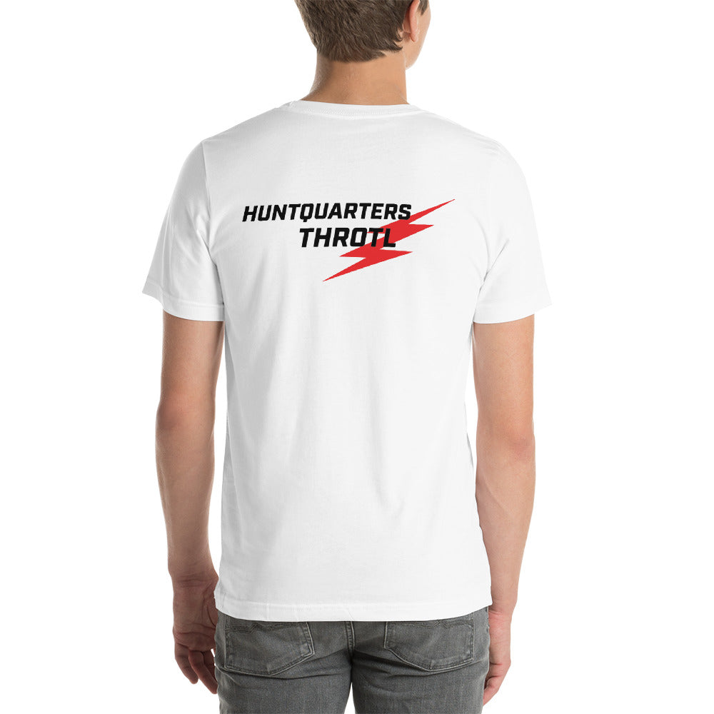 The Huntquarters/throtl short sleeve T