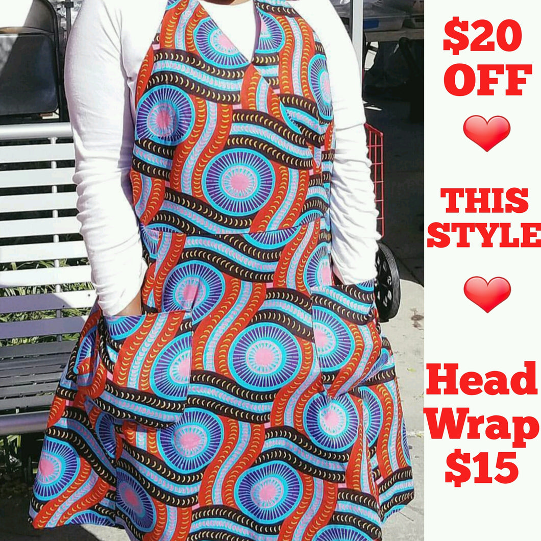 African Tribal Apron