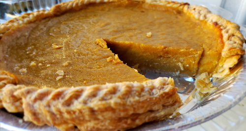 VEGAN Squash Pie